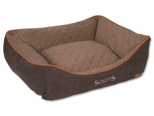 Scruffs Thermal Box Bed Termální pelíšek hnědý - velikost L, 75x60 cm