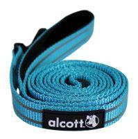 Alcott reflexní vodítko pro psy, modré, velikost S