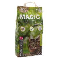 Kočkolit MAGIC CAT Litter Woodchips 10l