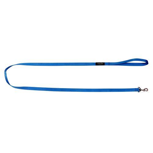 Vodítko pro psa nylonové - modré - 2,5 x 150 cm