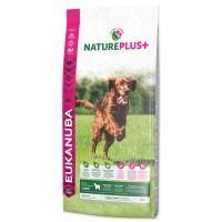 EUKANUBA Nature Plus+ Puppy & Junior Rich in freshly frozen Lamb