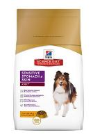 Hill's Canine Dry Sensitive Stomach Skin s kuřetem12kg