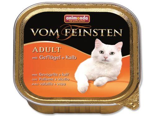 Animonda Vom Feinsten Paštika - drůbež & telecí pro dospělé kočky 100 g