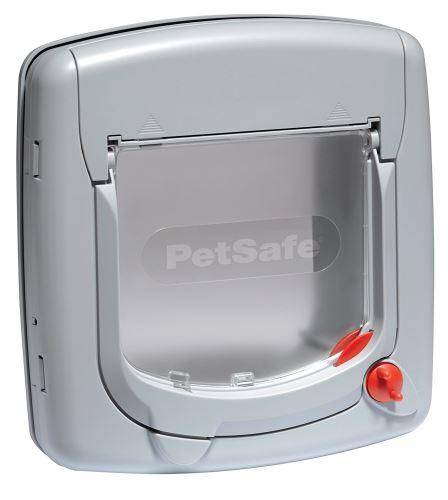 PetSafe Dvířka Staywell 340, manuální, šedá