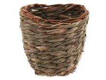 Hnízdo SMALL ANIMAL Košík travní pletené 15 x 10 x 15 cm