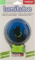 Obojek pro psa svítící - Red Dingo Lumitube led - zelený - 15 - 50 cm