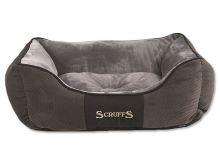 Scruffs Chester Box Bed Pelíšek šedý - velikost S, 50x40 cm