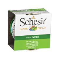 Konzerva SCHESIR Cat kuřecí v želé 85 g