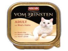 Animonda Vom Feinsten Adult Paštika - hovězí & kuřecí pro dospělé kočky 100 g