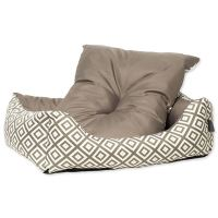 Sofa DOG FANTASY Etno hnědé 63 cm
