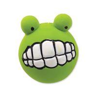 Hračka DOG FANTASY Latex zuby se zvukem zelené 6 cm