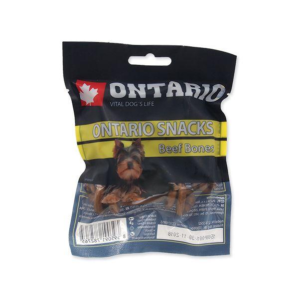 Snack ONTARIO Dog Rawhide Bone 7,5 cm