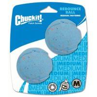 Chuckit! Rebounce aportovací míček z recyklované gumy - velikost M, 6,5 cm