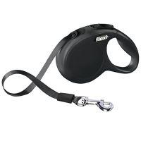 Vodítko FLEXI Classic NEW M-L pásek 5m/50kg černá