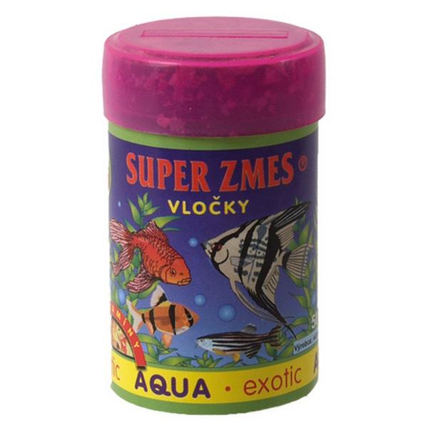Aqua Exotic supersměs vločkové krmivo