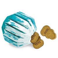 Kong Puppy Activity Ball Plnitelný gumový míč pro štěňata - velikost M