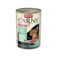 Konzerva ANIMONDA Carny Kitten hovězí + kuřecí + králík 400 g
