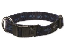 Obojek pro psa nylonový - Rogz Alpinist - modrý - 2,5 x 43 - 70 cm