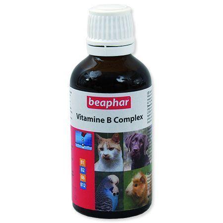 Beaphar B-komplex vitamínové kapky 50 ml