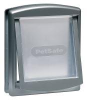 PetSafe Dvířka Staywell 757, stříbrná, velikost M
