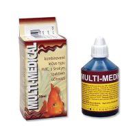 Hü-Ben Multimedikal kombinované léčivo proti plísním a parazitům ryb 50 ml