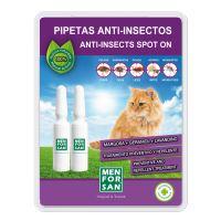 Menforsan Antiparazitní pipety proti blechám a klíšťatům pro kočky - 2x 1,5 ml