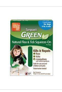 Sergeanťs Green Antiparazitní pipeta pro psy