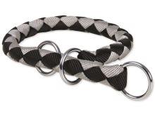 Obojek TRIXIE Cavo černo-stříbrný L-XL 1ks