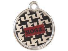 Rogz Metal Hound Dog Kovová známka pro psy - velikost L, průměr 31 mm