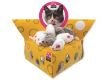Hračka MAGIC CAT myšky v trojúhelníku 5 cm (60ks)