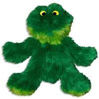 Kong Dr. Noys Žába plyšová odolná pískací hračka pro psy - velikost M