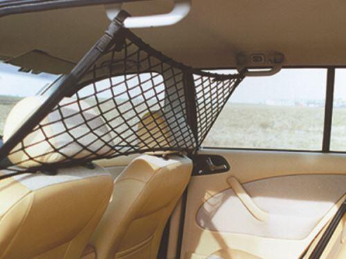 Mikra ochranná síť nad přední sedadla do auta