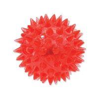 Hračka DOG FANTASY míček LED růžový 5 cm