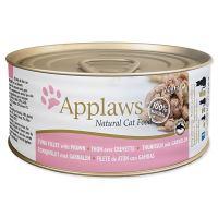 Konzerva APPLAWS Cat Tuna Fillet & Prawn 70 g