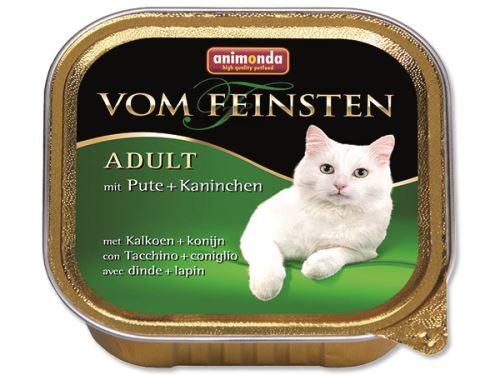 Animonda Vom Feinsten Paštika - krůta & králík pro dospělé kočky 100 g