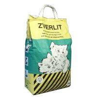 Zverlit zelený / hrubá podestýlka pro kočky 6kg