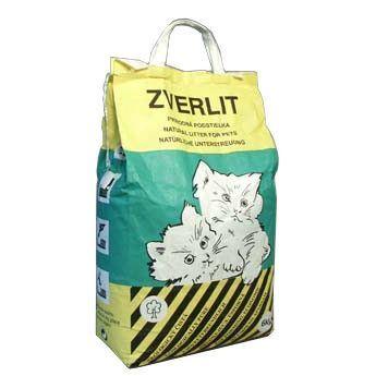 Zverlit zelený / hrubá podestýlka pro kočky