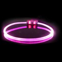 Obojek pro psa svítící - Red Dingo Lumitube led - fialový - 15 - 50 cm