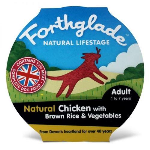 Forthglade Natural Lifestage Adult konzerva - kuře & hnědá rýže & zelenina