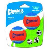 Chuckit! míčky tenisové oranžovo modré - velikost S, 5 cm, 2 ks