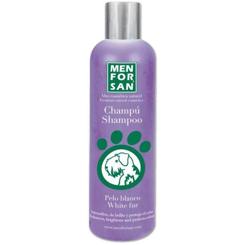Menforsan Šampon pro zesvětlení bílé srsti pro psy
