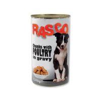Konzerva RASCO drůbeží kousky ve šťávě 1240 g