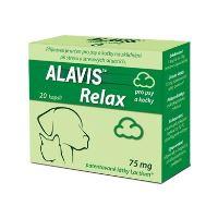 Alavis Relax 75 mg pro psy a kočky 20 tablet - EXPIRACE 04/2018