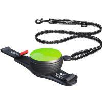 Lishinu vodítko 3v1 (pro psy a kočky do 8kg), Light Lock, zelené