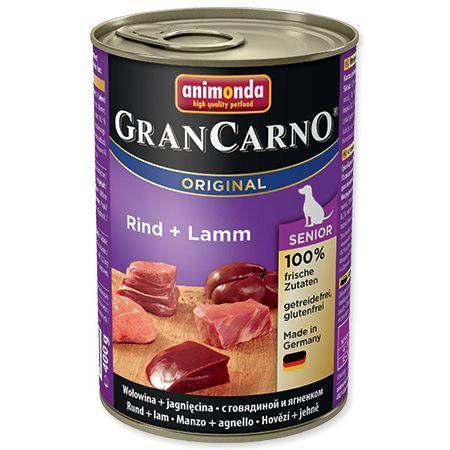 Animonda Gran Carno Senior Konzerva - telecí & jehněčí