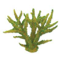 Dekorace AQUA EXCELLENT Mořský korál měkký zelený 16 x 12,5 x 13,5 cm (1ks)
