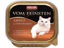 Animonda Vom Feinsten Paštika - kuřecí játra pro dospělé kočky 100 g
