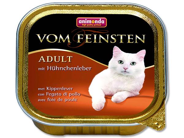Animonda Vom Feinsten - kuřecí játra pro dospělé kočky 100 g