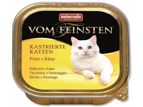 Animonda Vom Feinsten Castrate Paštika - krůta & sýr pro kastrované kočky 100 g