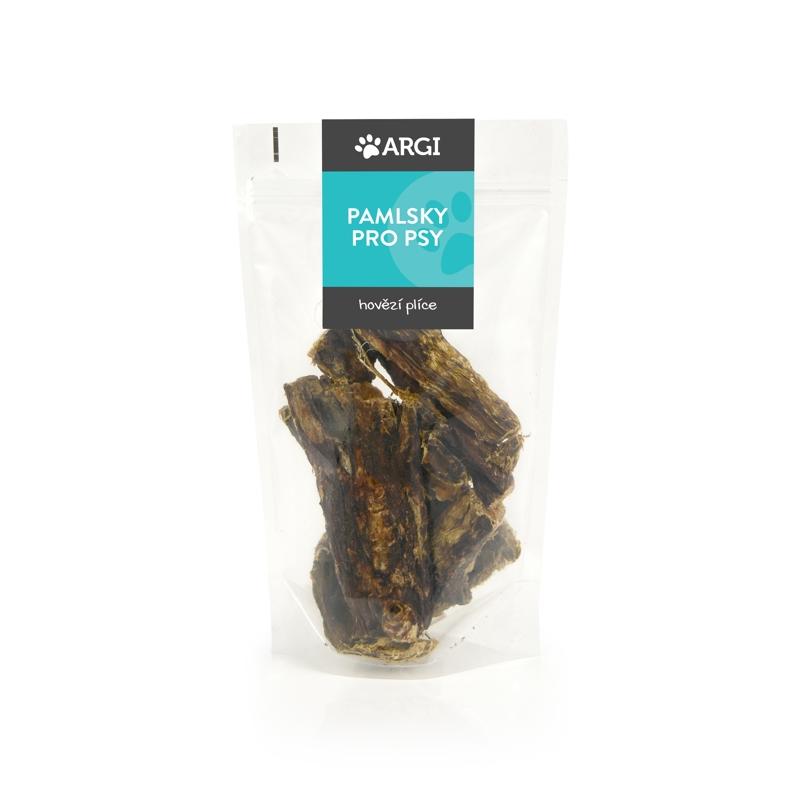 Hovězí plíce - sušené pamlsky pro psa Argi 100 g